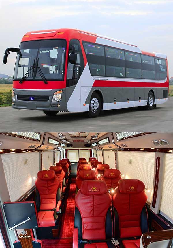 shuttle bus hanoi