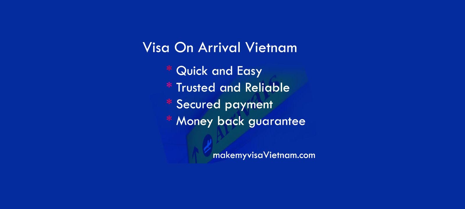 visa on arrival vietnam